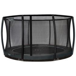 Etan Inground Premium Gold Combi Deluxe trampolin GRÅ