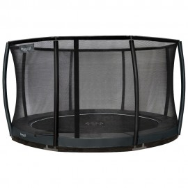 Etan Inground Premium Gold Combi Deluxe trampolin GRÅ