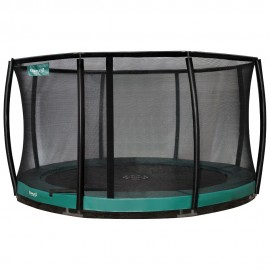 Etan Inground Premium Gold Combi Deluxe trampolin GRØN