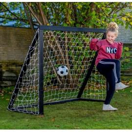 Fodboldmål Pro Junior - 175 x 140 cm - Sort