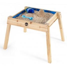 Sand og vandbord i træ (Plum)