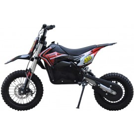 Dirt Bike EL Brushless 1200W 48V Li-ion Batteri Crosser