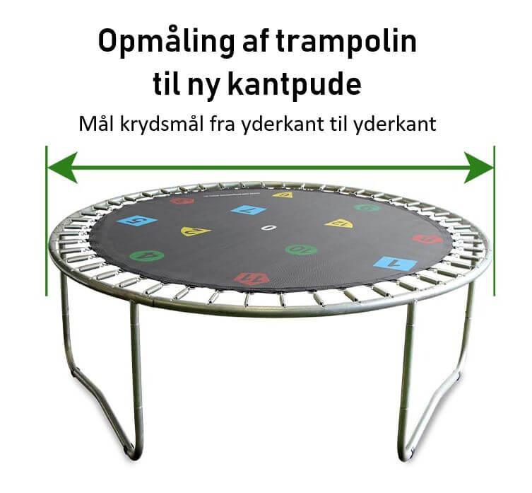 Hi Flyer Kantpude Til Trampoliner Reservedel Sikkerheden I Top