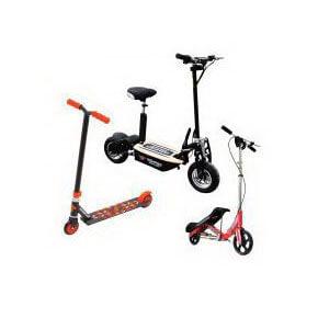 Løbehjul og elektriske løbehjul