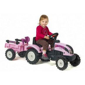 Pedal traktorer